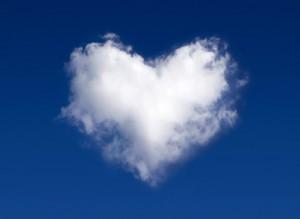 Nuvola a cuore