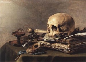 tete-de-mort-nature-morte-