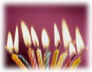 bougies-d'anniversaire