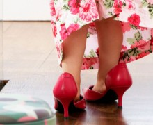 imitation-fille-chaussures-maman